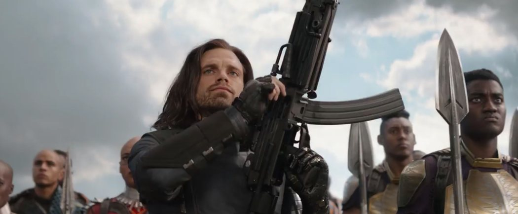 El nuevo brazo de Bucky