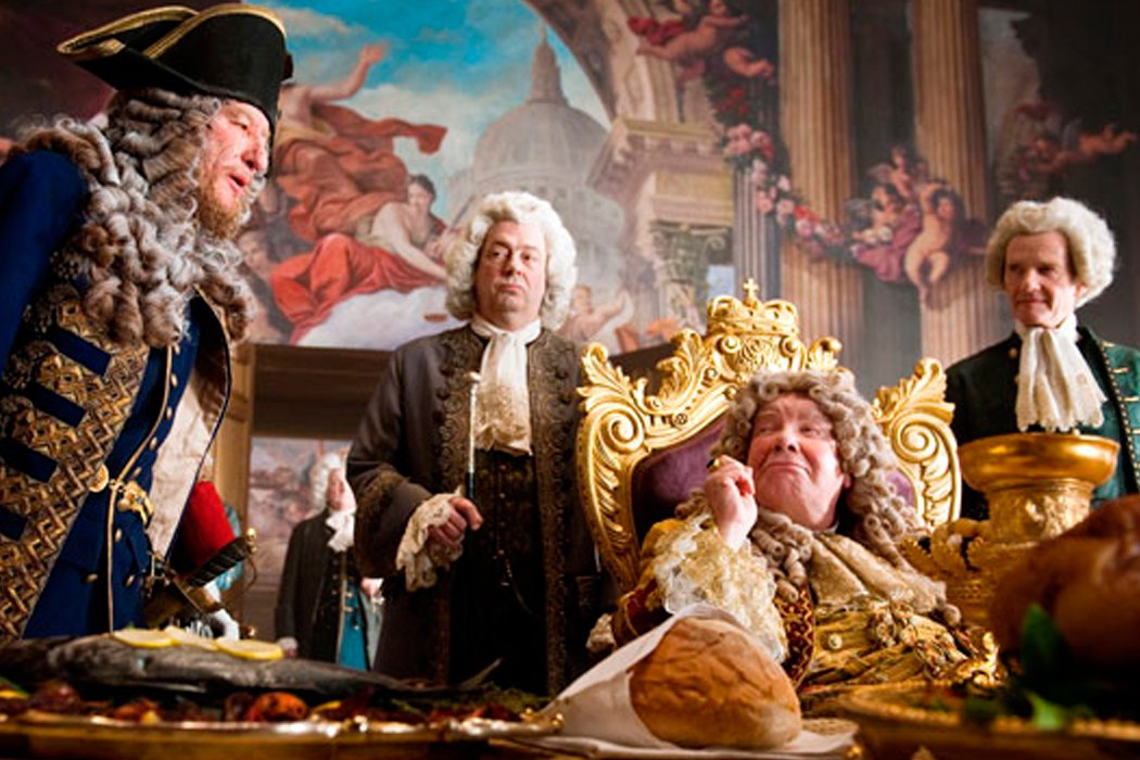 Rey Jorge II en 'Piratas del Caribe: En mareas misteriosas'