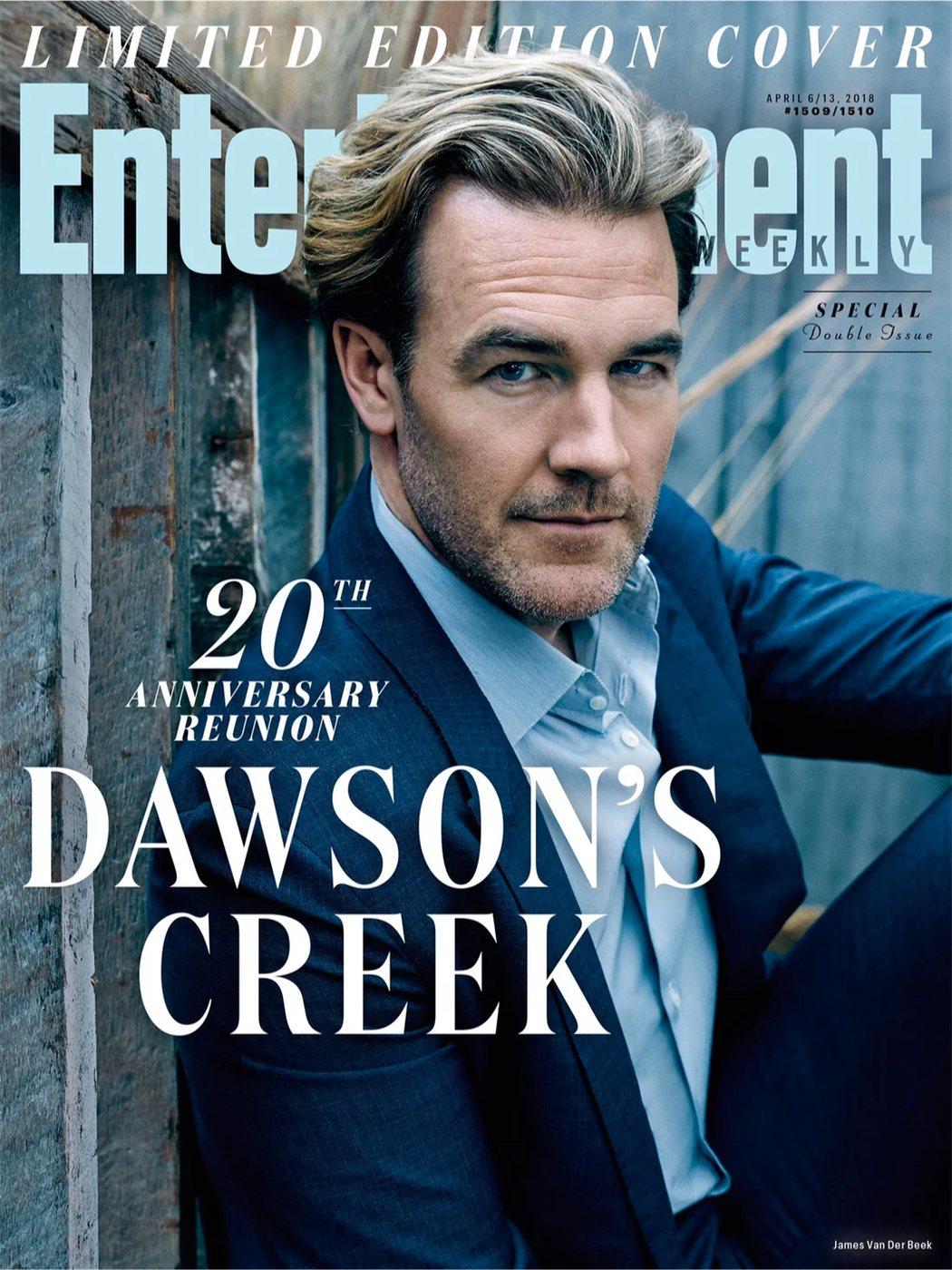 James Van Der Beek para Entertainment Weekly