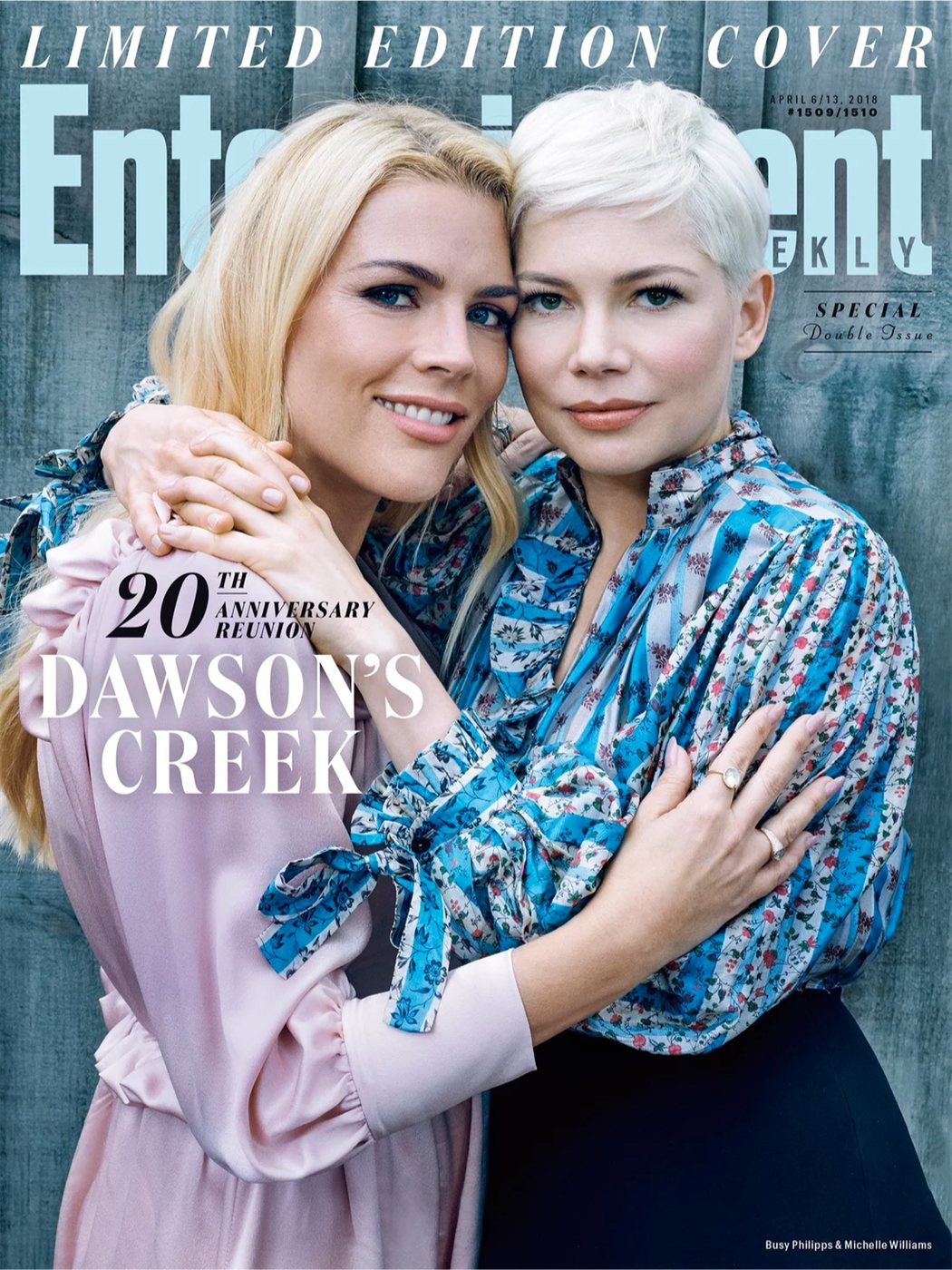 Busy Phillipps y Michelle Williams para Entertainment Weekly