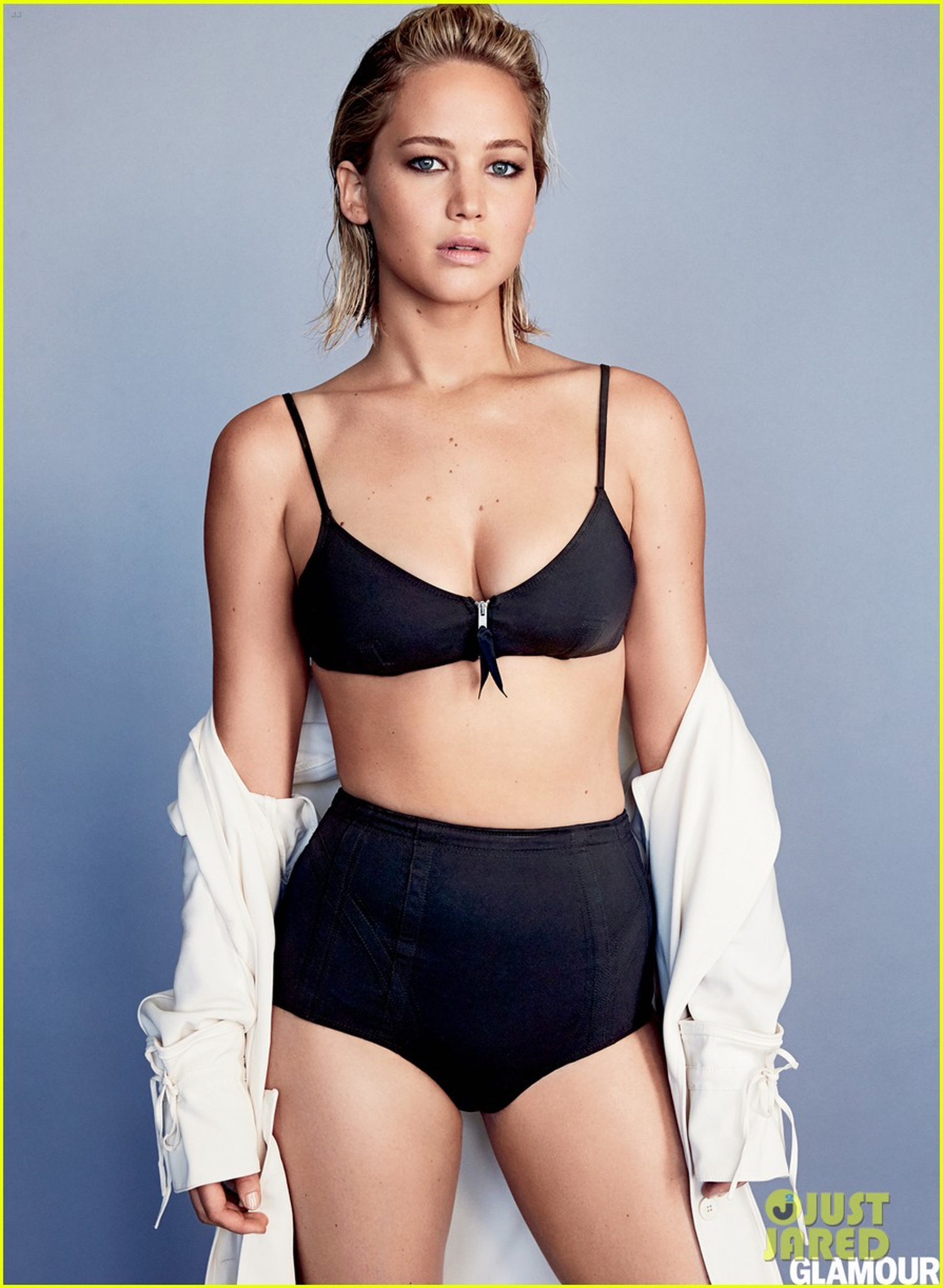 Jennifer Lawrence para la revista Glamour