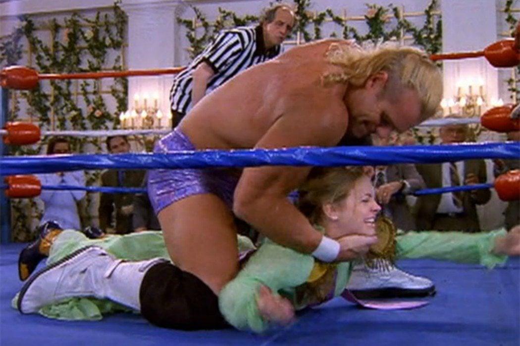 Su afición por el wrestling