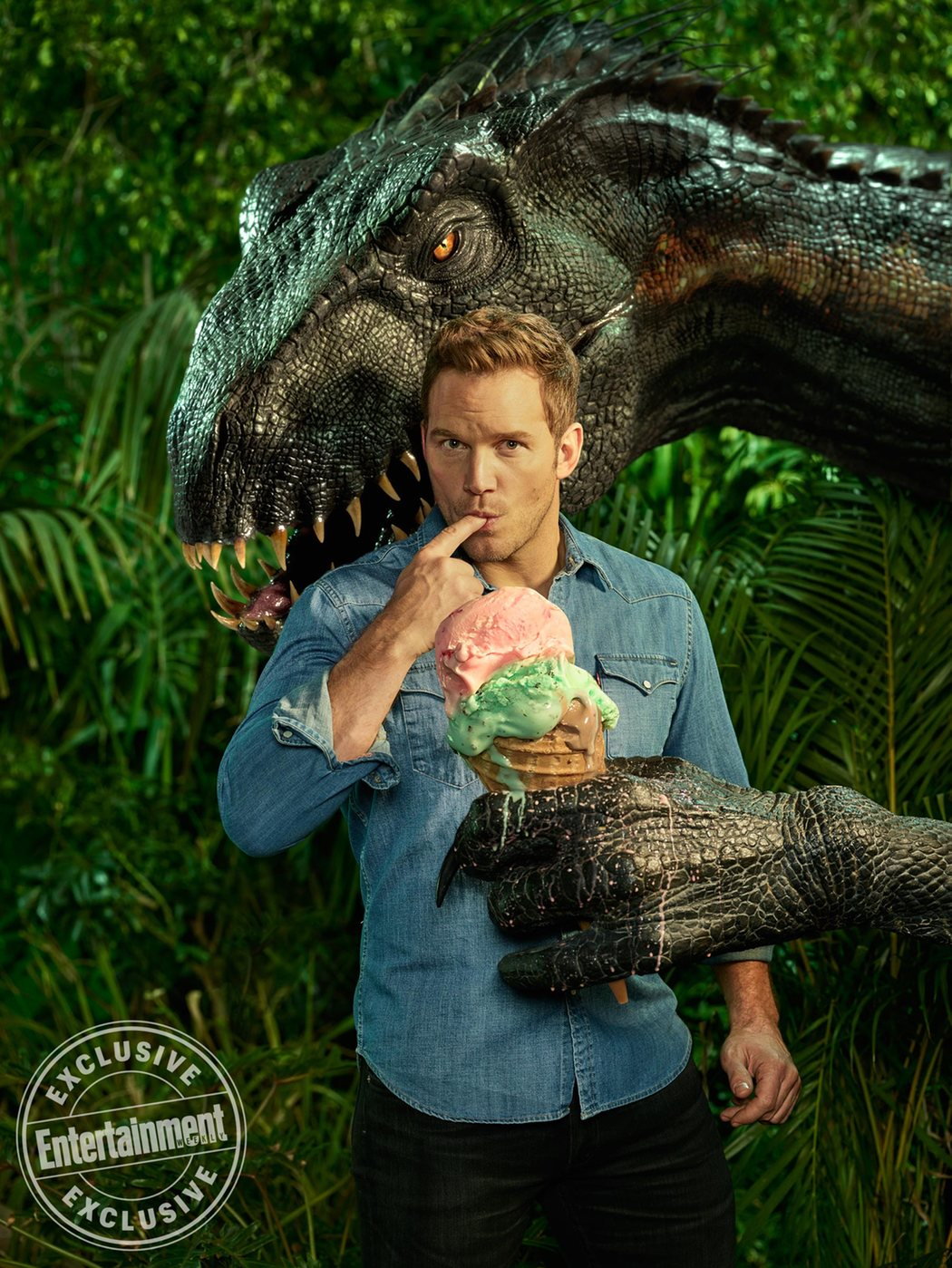 'Jurassic World: El reino caído' para Entertainment Weekly #2