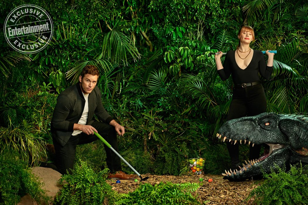 'Jurassic World: El reino caído' para Entertainment Weekly #3