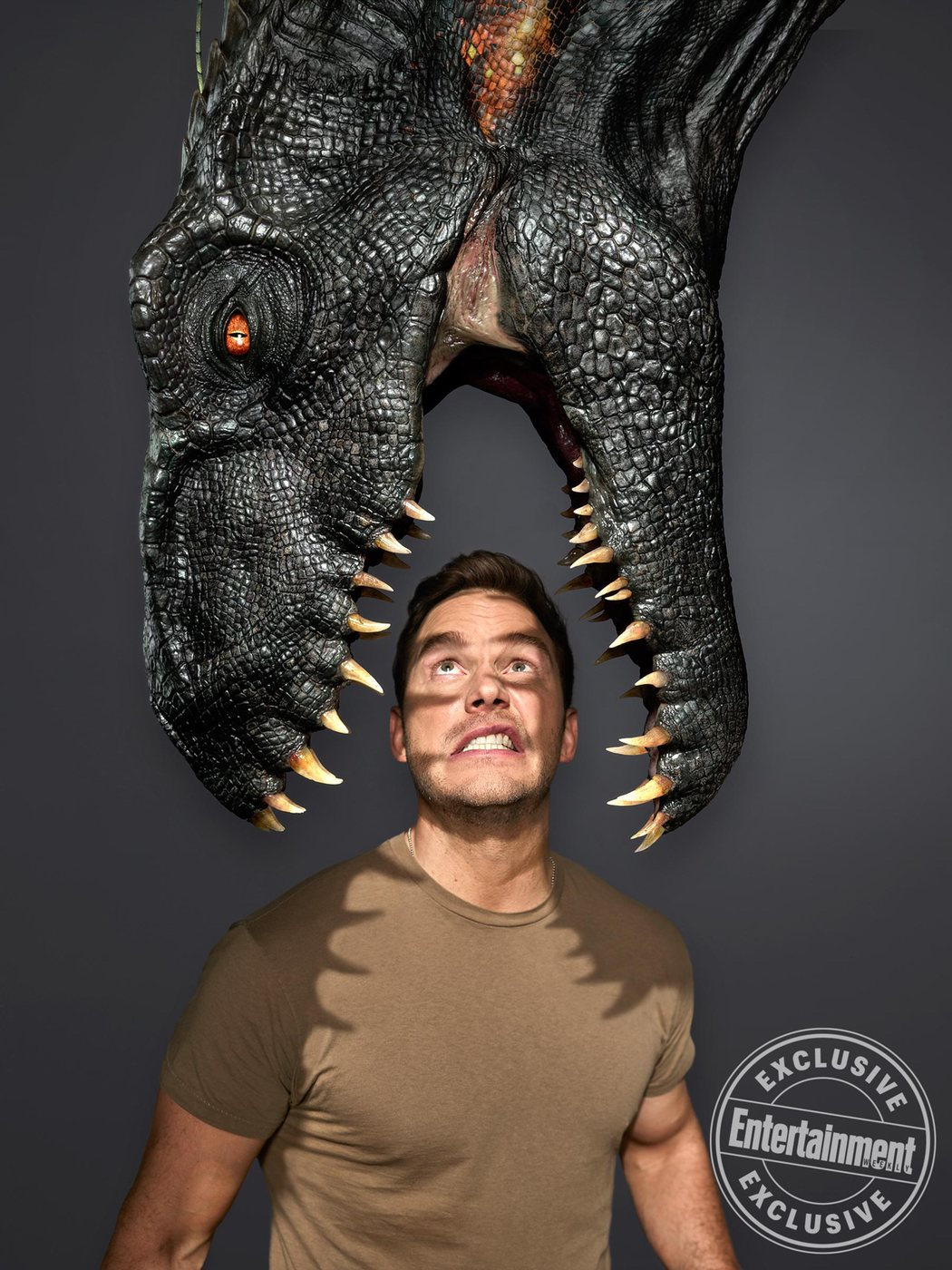 'Jurassic World: El reino caído' para Entertainment Weekly #6
