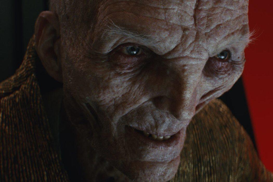 Líder Supremo Snoke en 'Star Wars: El despertar de la fuerza'