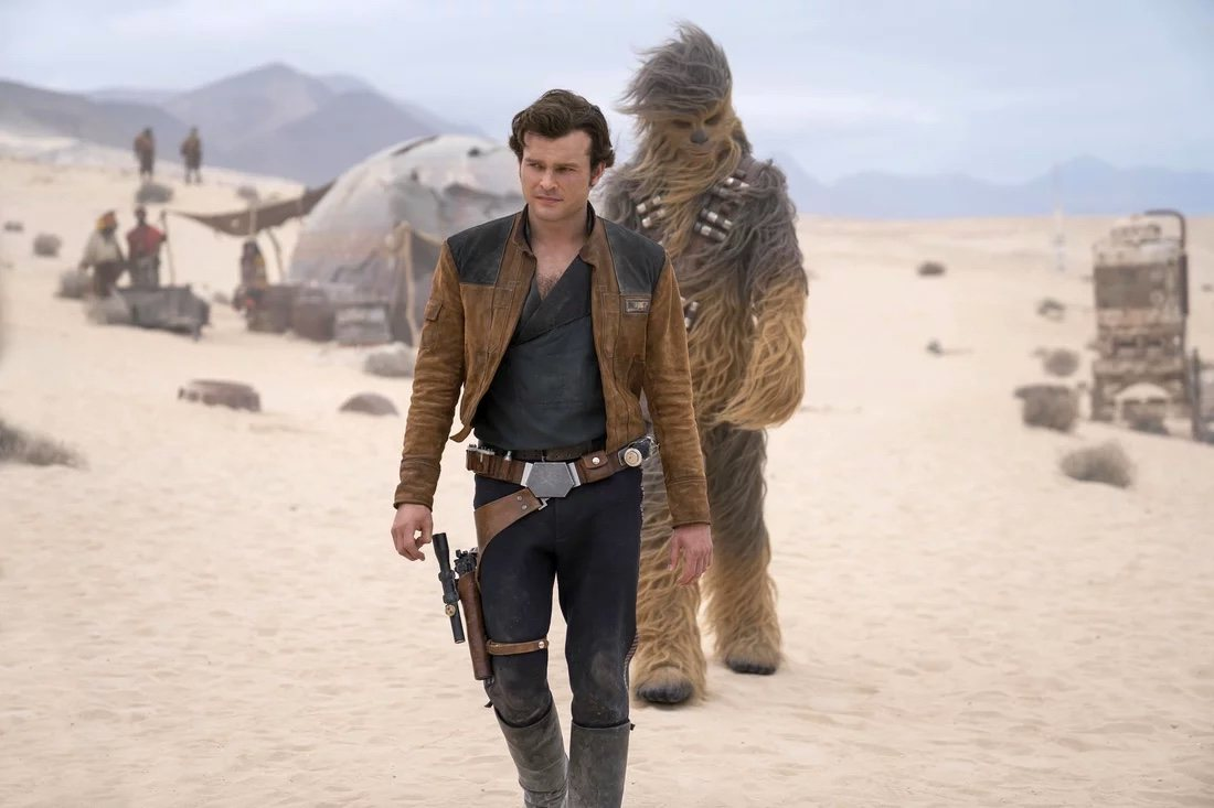 Solo y Chewie