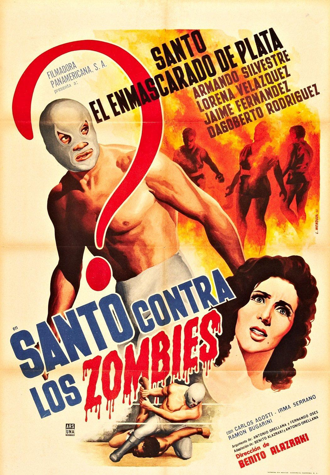 'Santo contra los zombies'