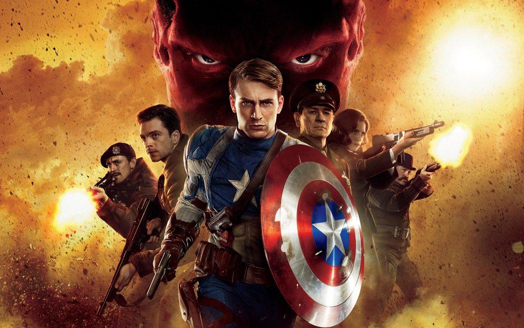 'Capitán América: El primer vengador'