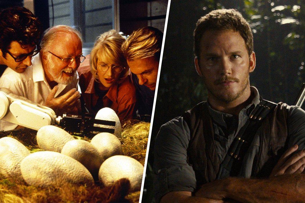 De 'Jurassic Park' a 'Jurassic World'