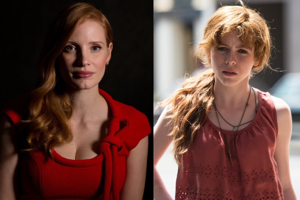 Jessica Chastain (Beverly Marsh)