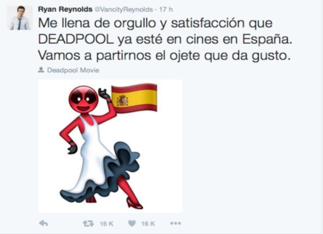 Deadpool sorprende con su nivel de español