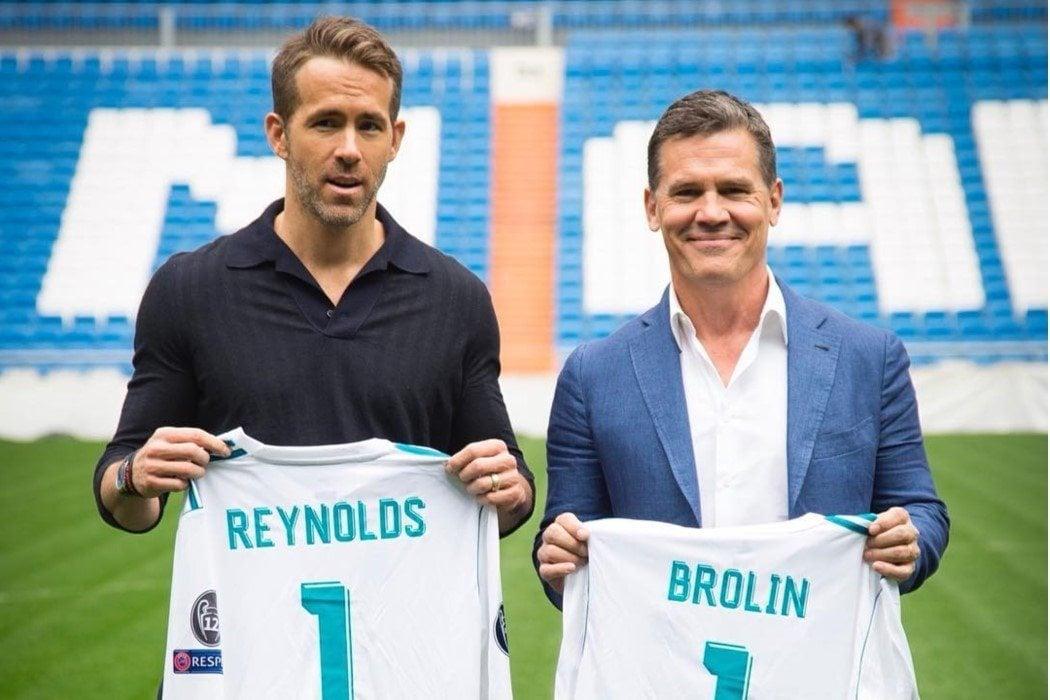 Ryan Reynolds, muy fan del fútbol, no del soccer