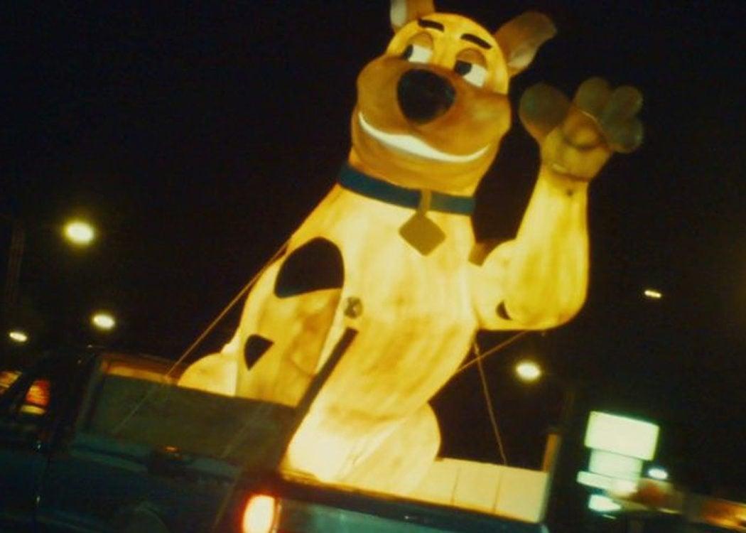 Cameo de Scooby