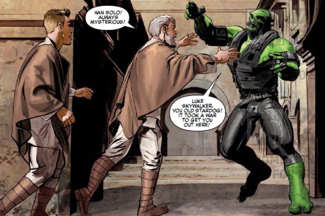 Han Solo era un alienígena verde