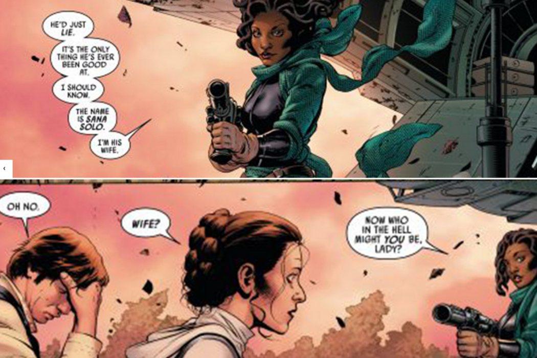 La primera mujer de Han Solo