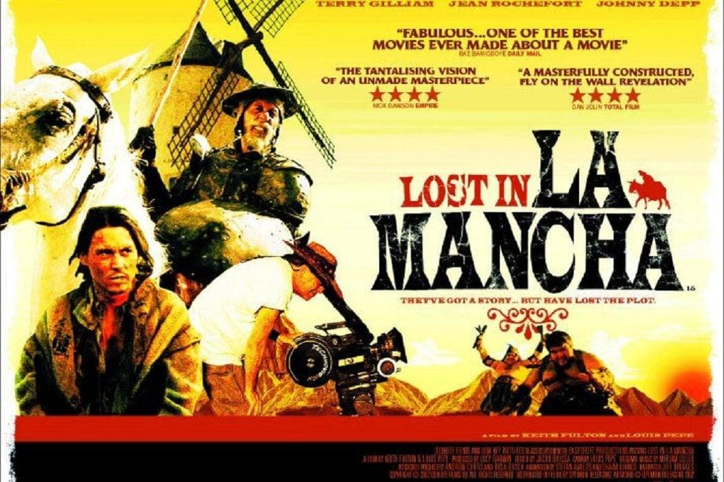 2002: 'Lost in La Mancha'