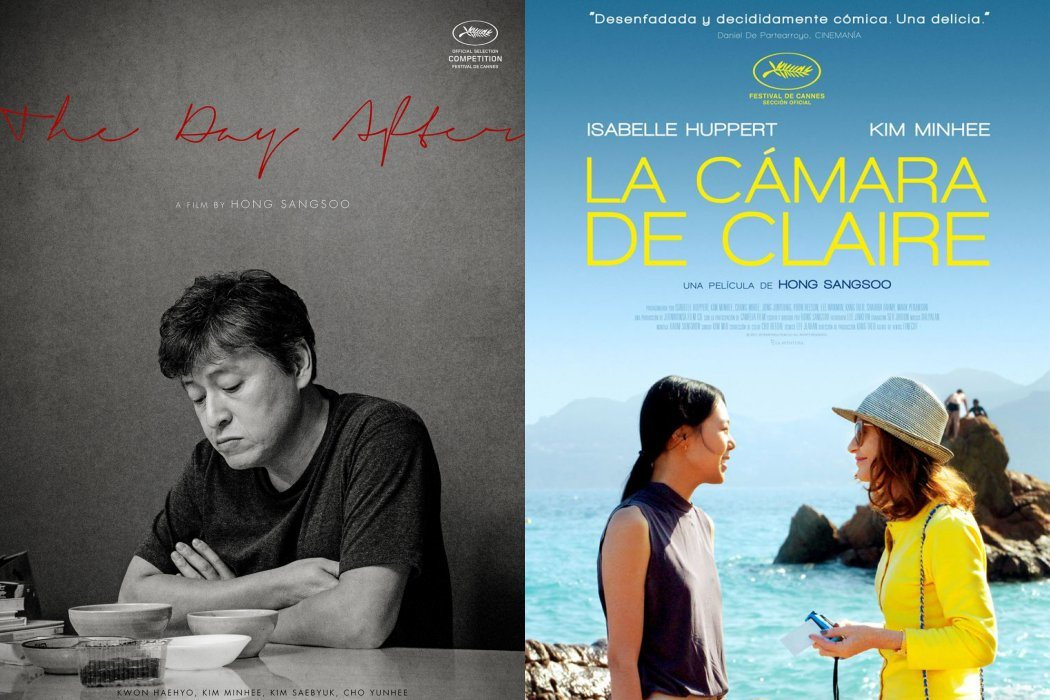 'The Day After' y 'La cámara de Claire' (Hong Sangsoo)