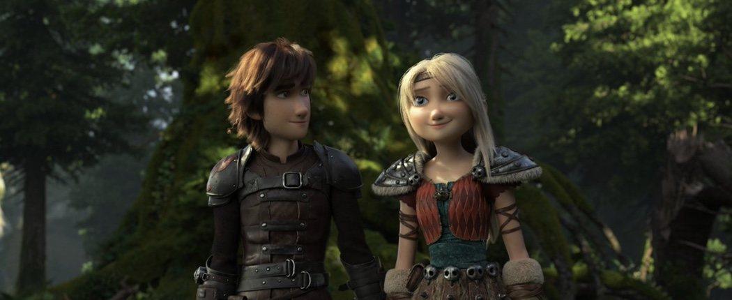 Hipo y Astrid preparados para un nuevo viaje
