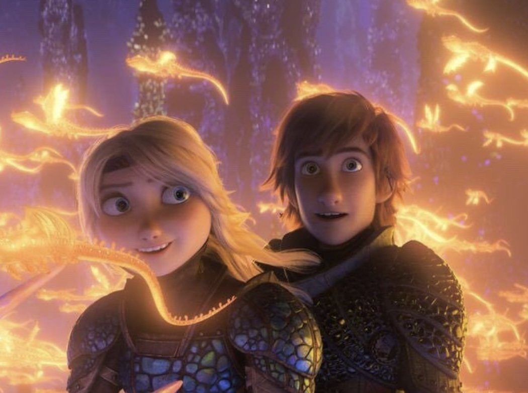 Hipo y Astrid descubriendo un nuevo mundo