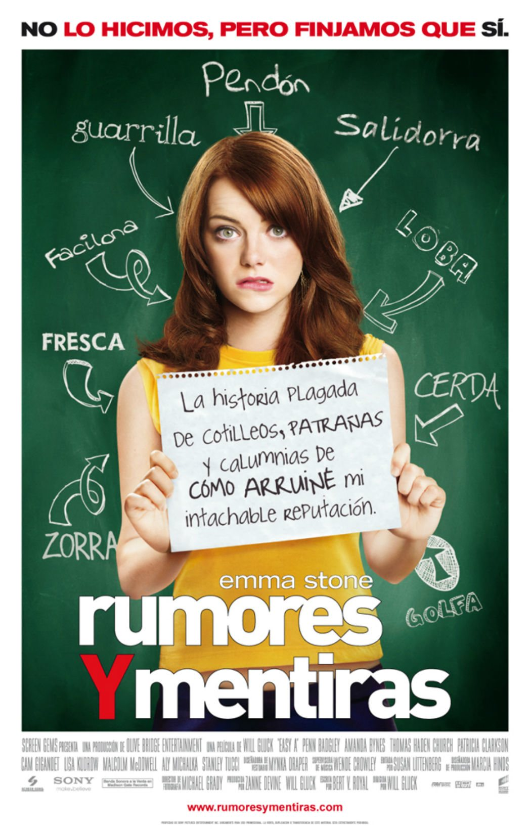 'Rumores y mentiras' (2010)