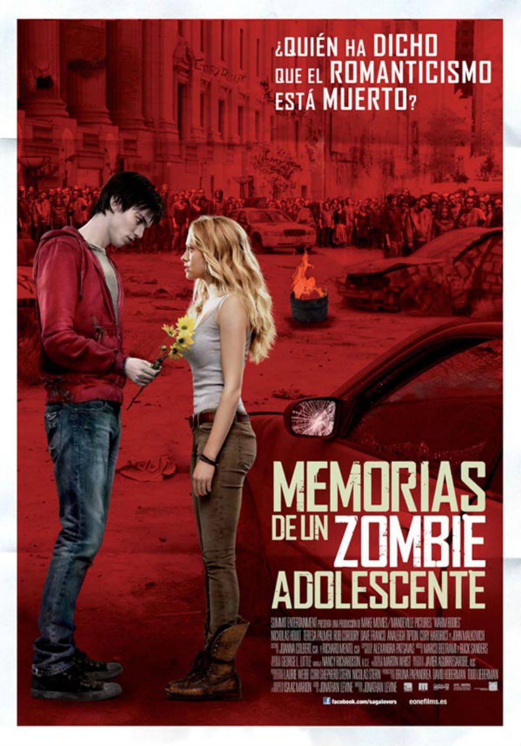'Memorias de un zombie adolescente' (2012)
