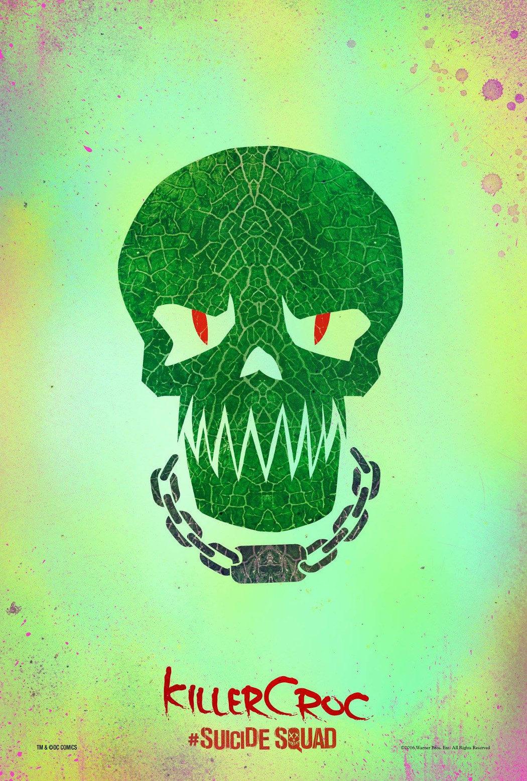 Killer Croc - 'Escuadrón Suicida'