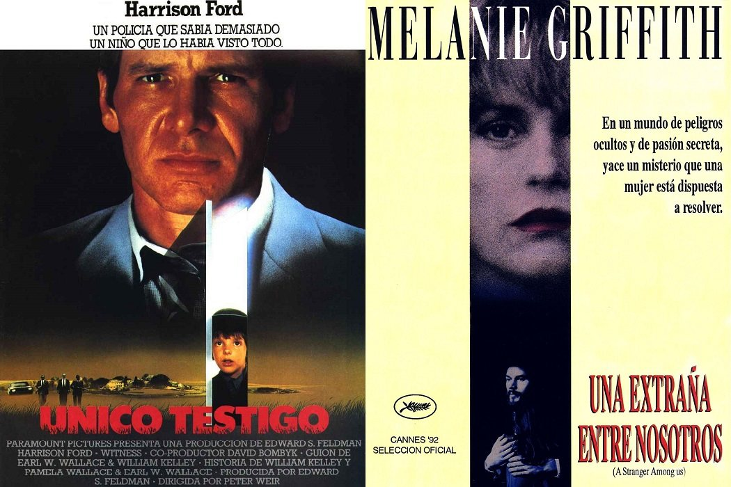 'Único testigo' (1985) / 'Una extraña entre nosotros' (1992)