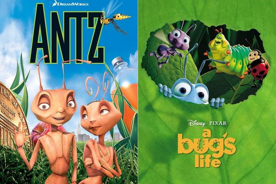 'Antz' (1998) / 'Bichos, una aventura en miniatura' (1998)