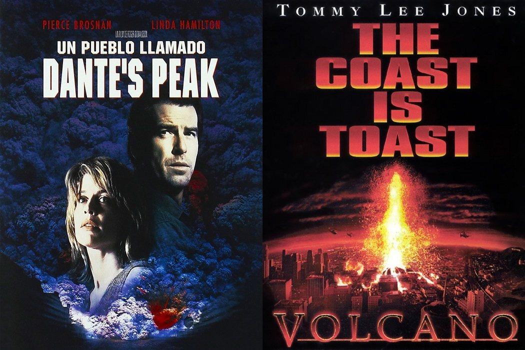 'Un pueblo llamado Dante's Peak' (1996) / 'Volcano' (1997)