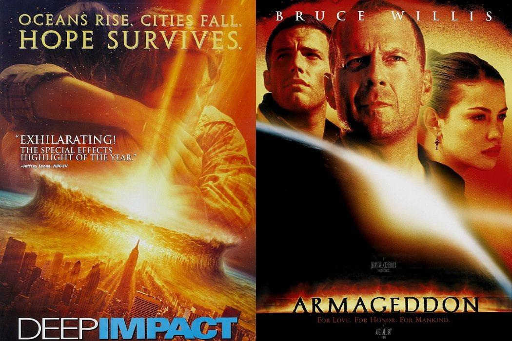 'Deep Impact' (1998) / 'Armageddon' (1998)