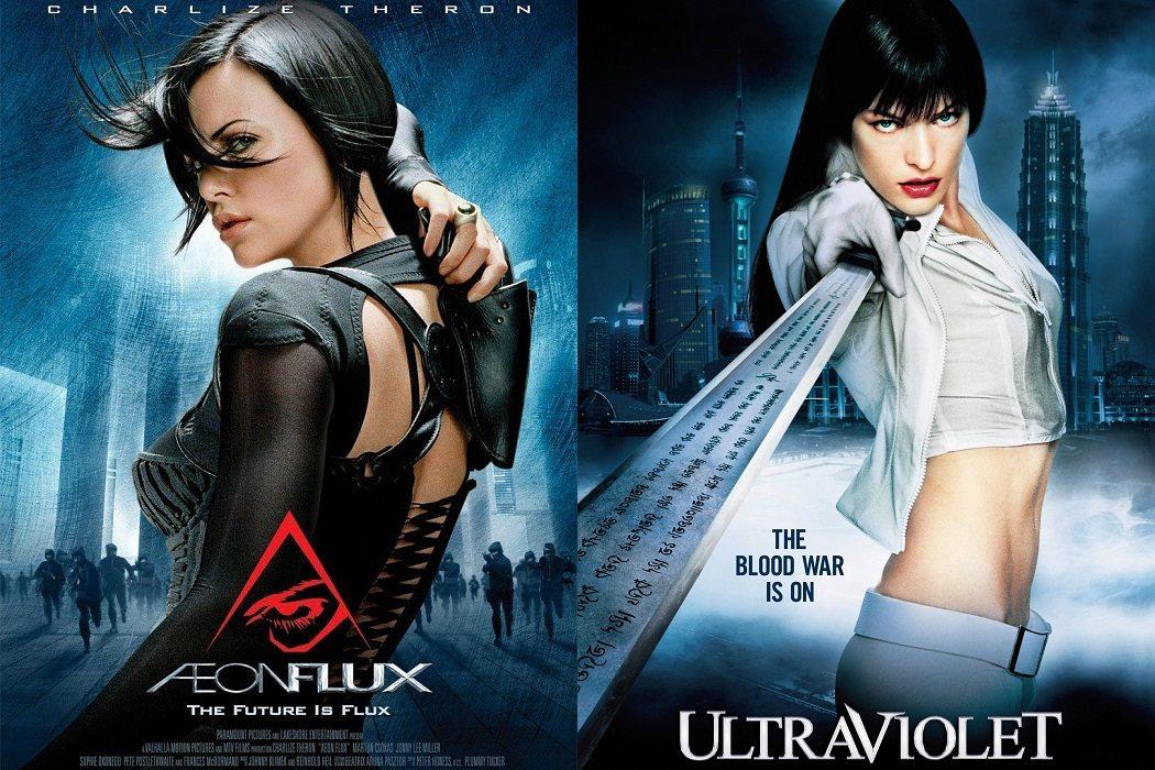 'Aeon flux' (2005) / 'Ultravioleta' (2006)