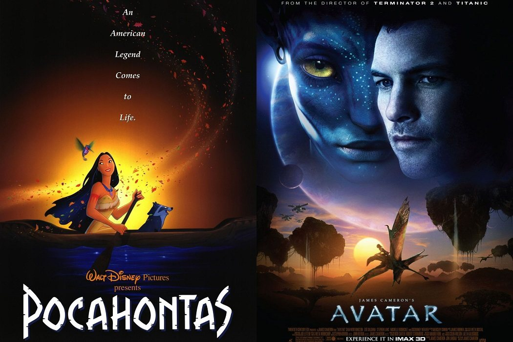 'Pocahontas' (1995) / 'Avatar' (2009)
