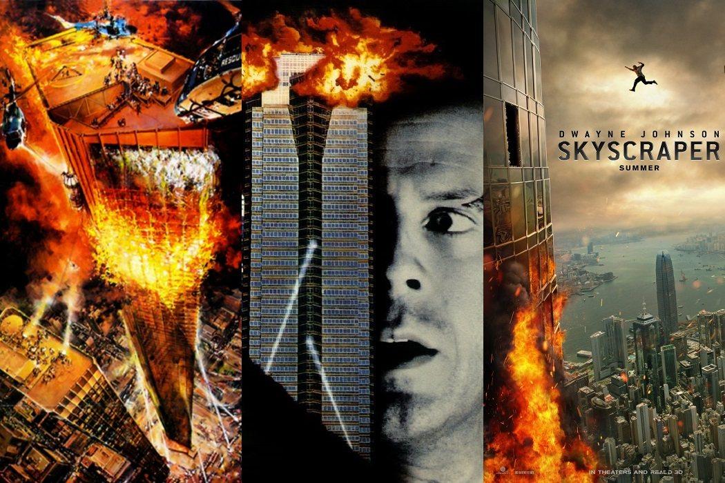 'El coloso en llamas' (1974) / 'Jungla de cristal' (1988) / 'El rascacielos' (2018)