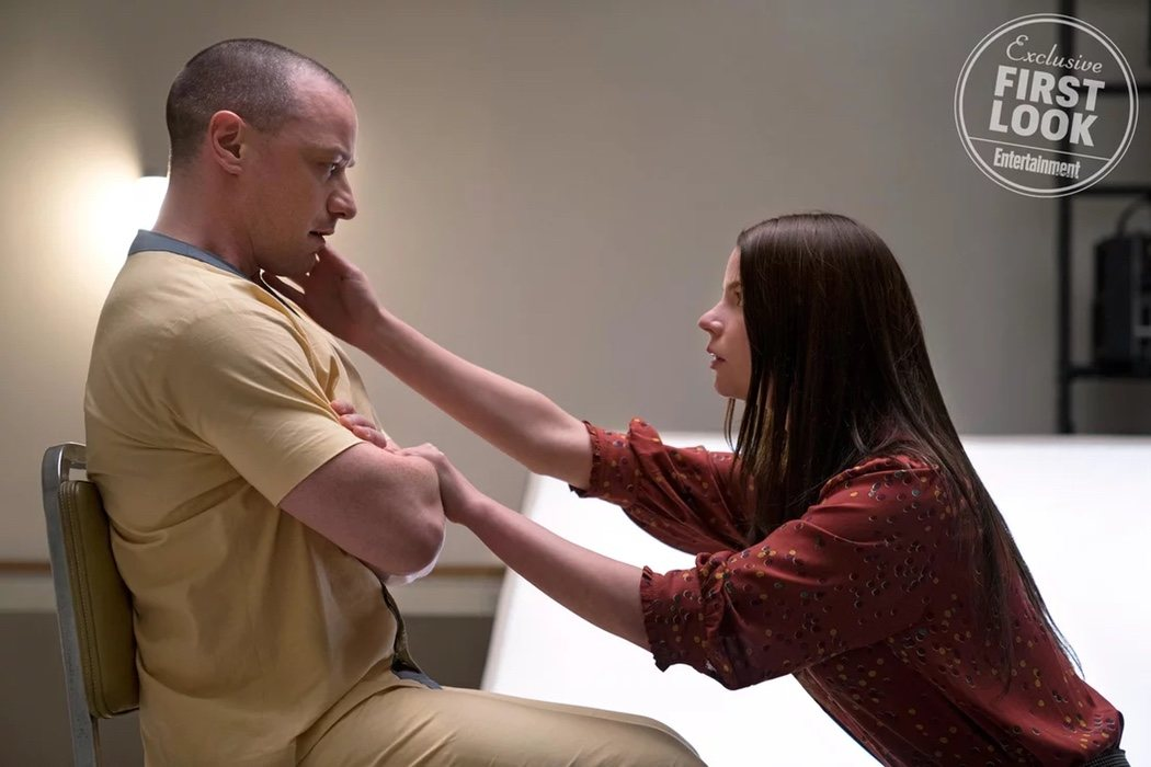 James McAvoy y Anya Taylor-Joy