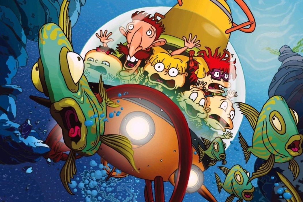 'Los Rugrats: Vacaciones salvajes'