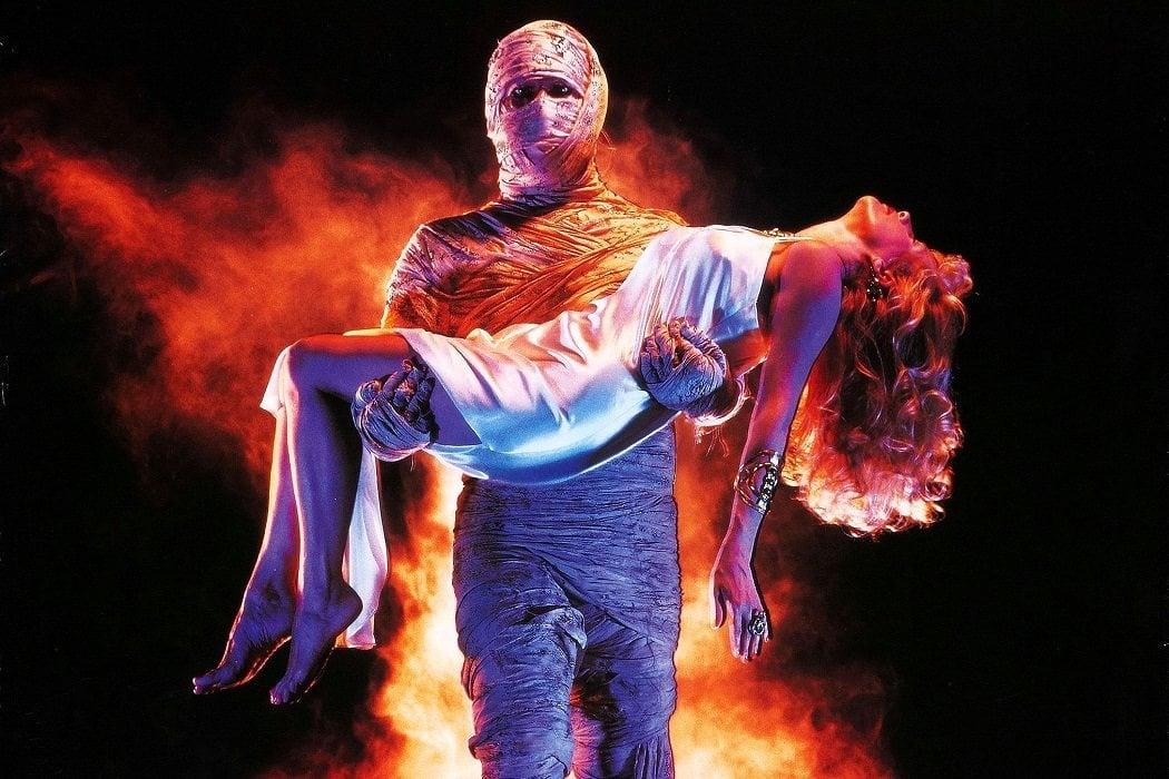 Tony Curtis en 'The Mummy Lives'