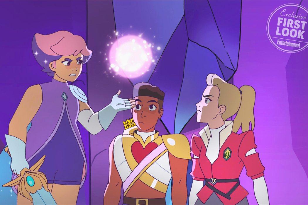Primer vistazo a Glimmer, Bow y Adora