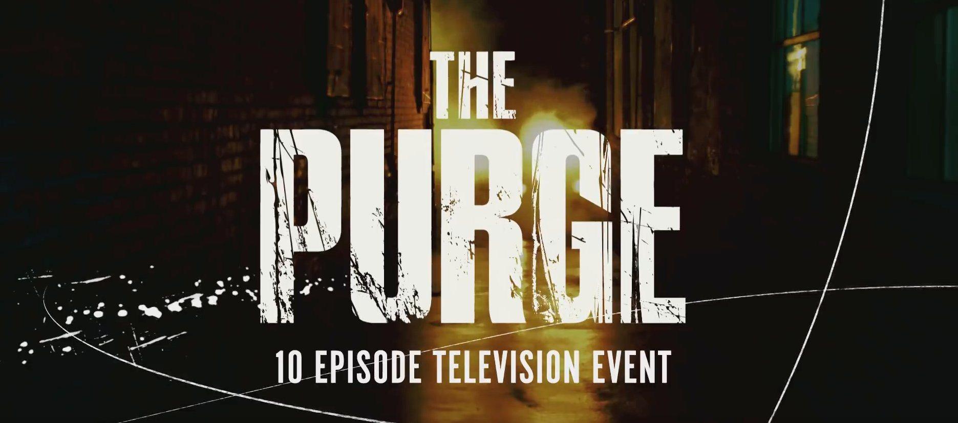 'La Purga', la serie