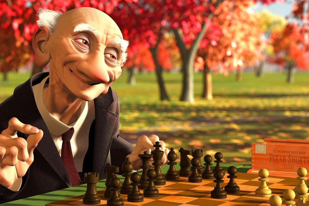 'El juego de Geri' (Jan Pinkava)