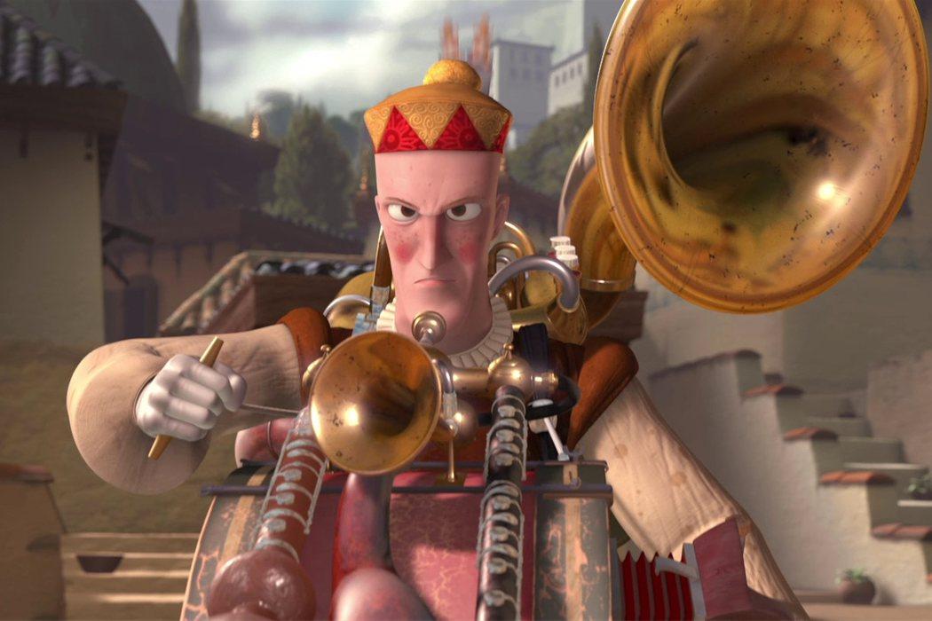 'El hombre orquesta' (Mark Andrews & Andrew Jiménez)
