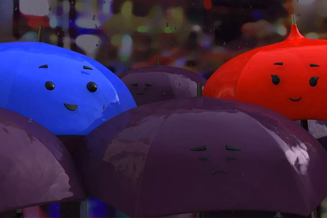 'Azulado (The Blue umbrella)' (Saschka Unseld)
