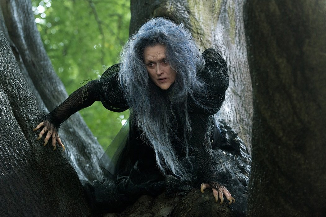 La Bruja en 'Into the woods'