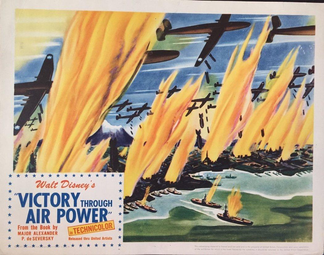 'Victoria por medio de la fuerza aérea'