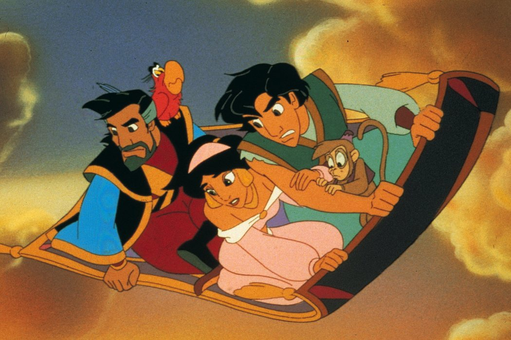 'Aladdin y el rey de los ladrones' (1995)