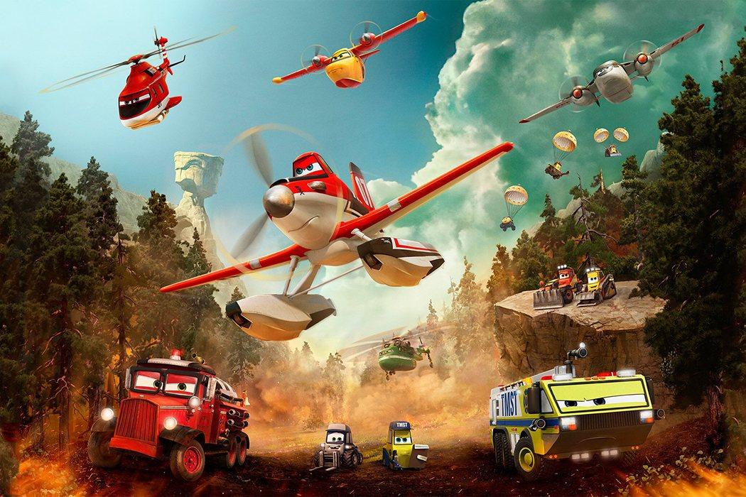'Aviones: Equipo de rescate' (2014)