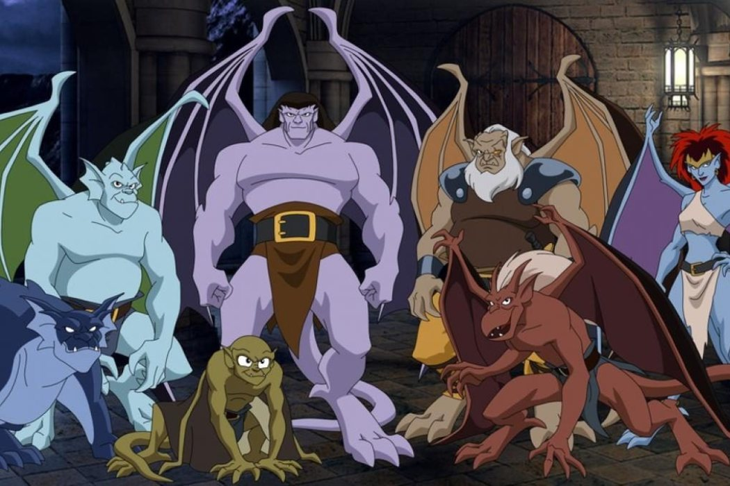 'Gargoyles: Héroes mitológicos'
