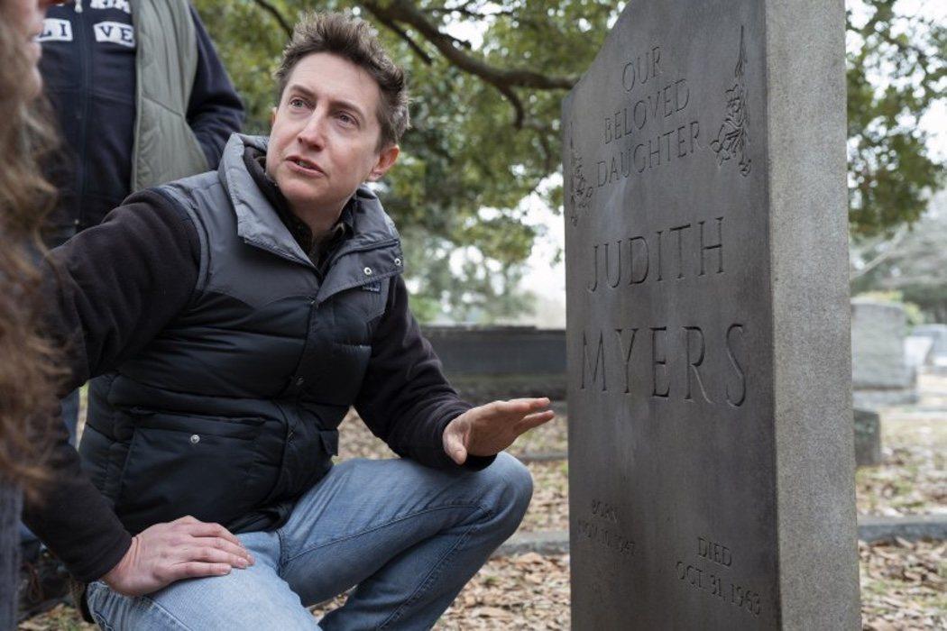 La tumba de la hermana de Myers