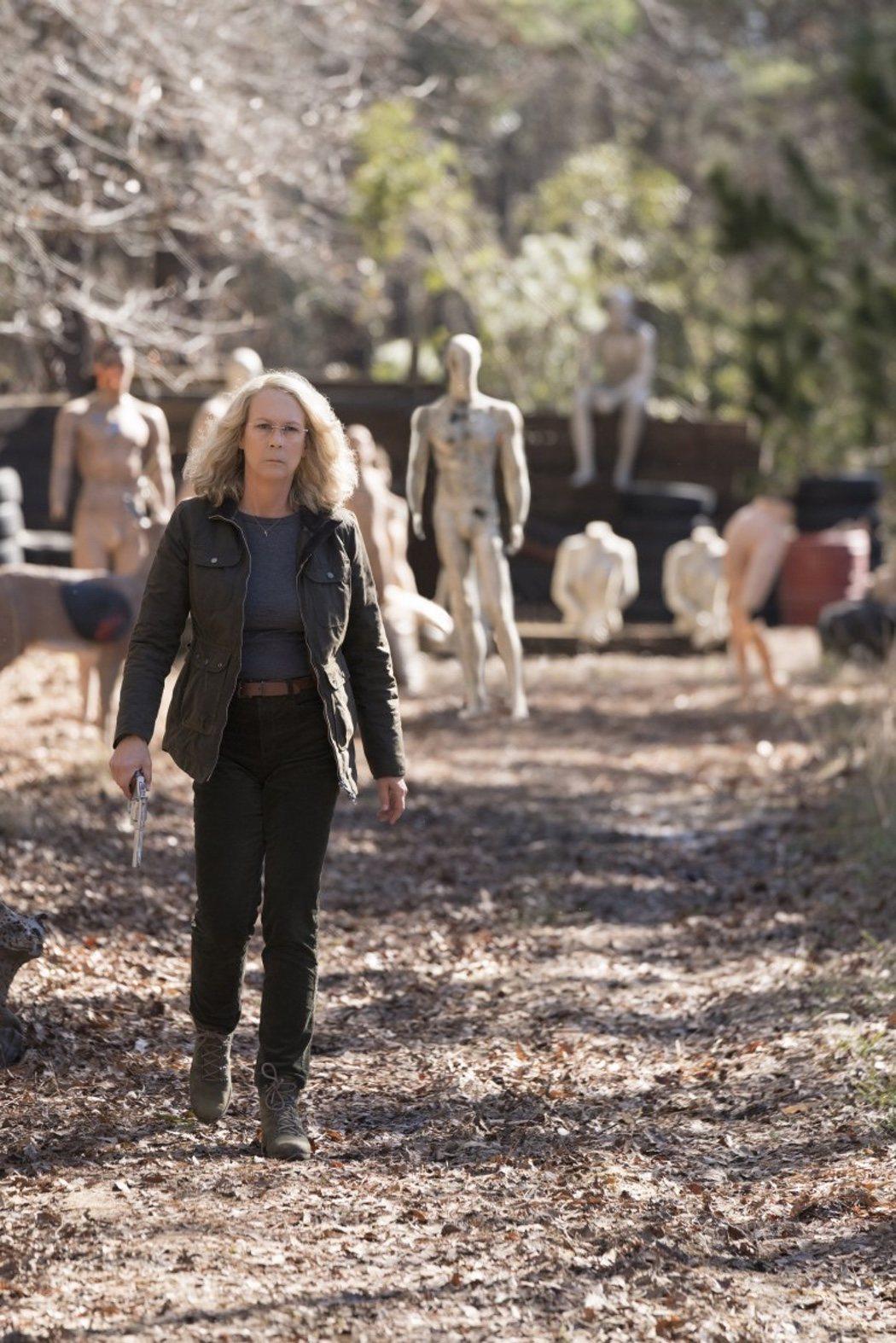 Laurie Strode en busca de Michael Myers