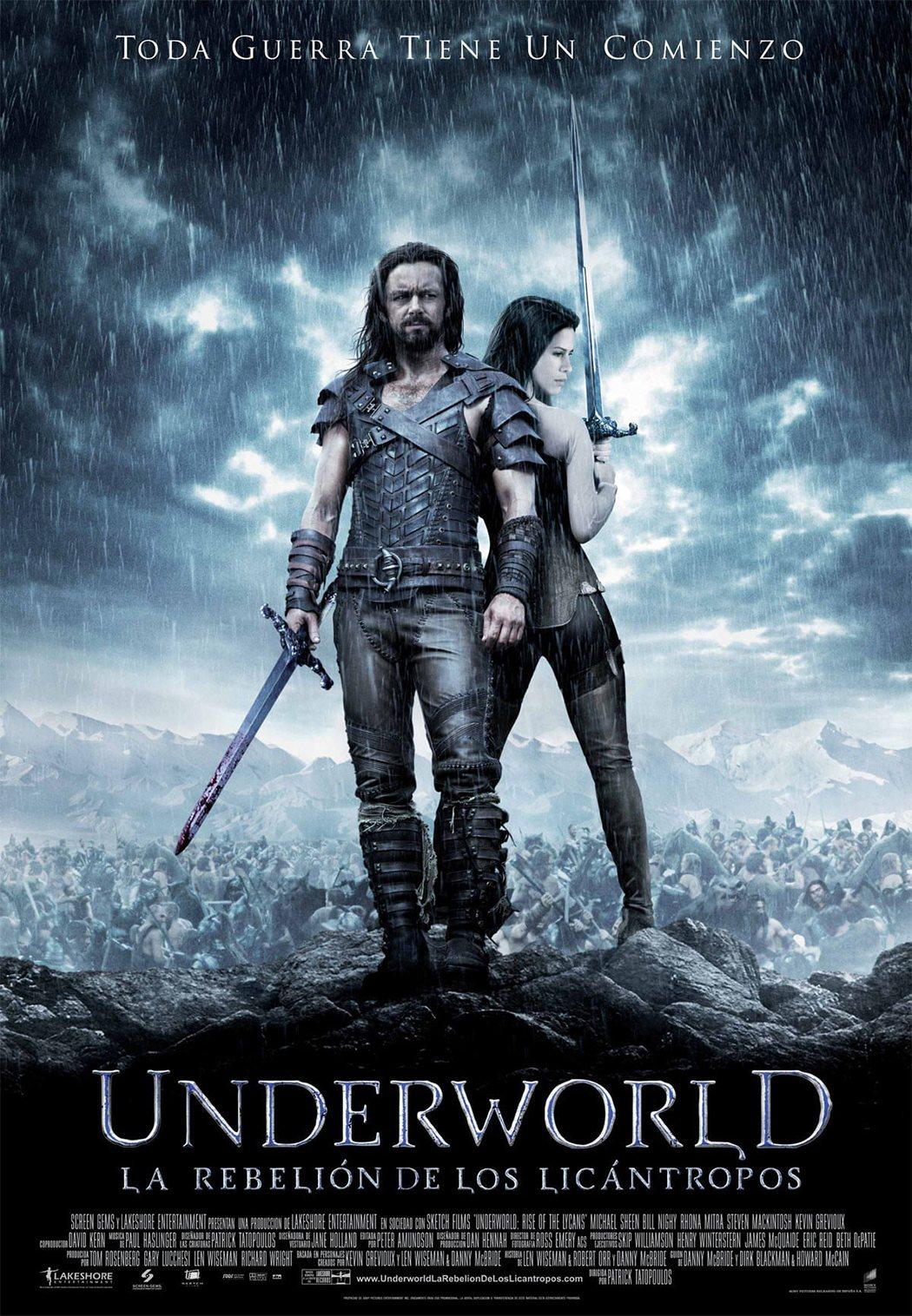 'Underworld: La rebelión de los licántropos'